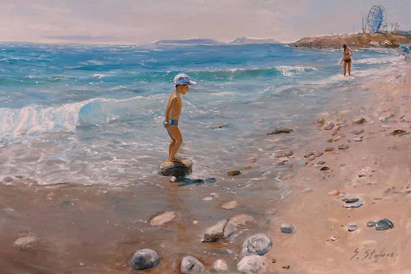 Painting - lUAJ by Sefedin Stafa