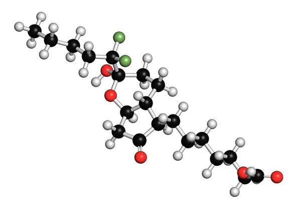 Pharma Wall Art - Photograph - Lubiprostone Chronic Constipation Drug by Molekuul