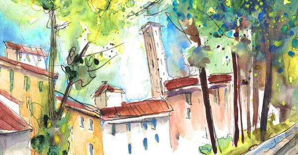 Painting - Lucca In Italy 06 by Miki De Goodaboom