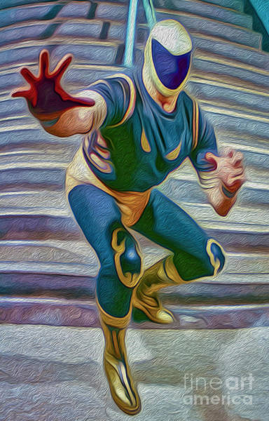 Painting - Lucha Libre by Gregory Dyer