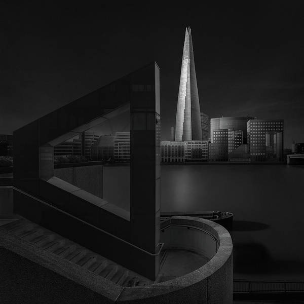 Wall Art - Photograph - Lucid Dream I - The Shard by Oscar Lopez