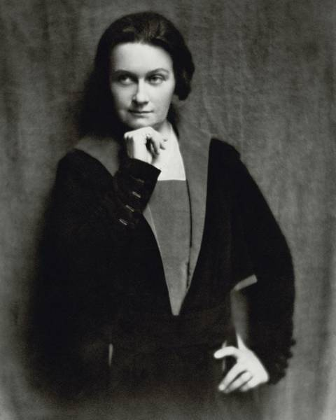1921 Photograph - Lucile Watson Pensive by Nickolas Muray