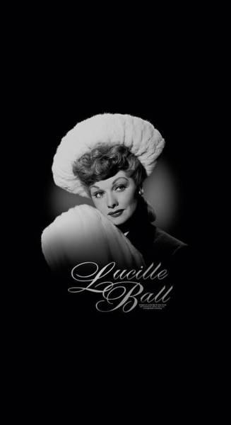 Lucille Ball Wall Art - Digital Art - Lucille Ball - Soft Portrait by Brand A