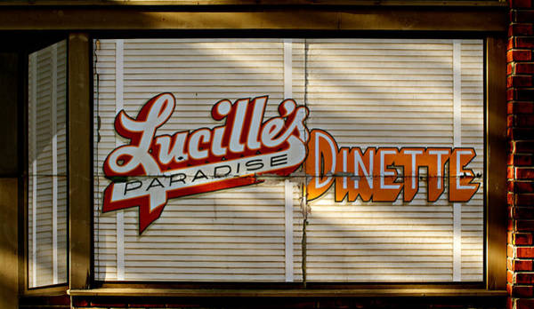 Photograph - Lucille's Dinette by Bud Simpson