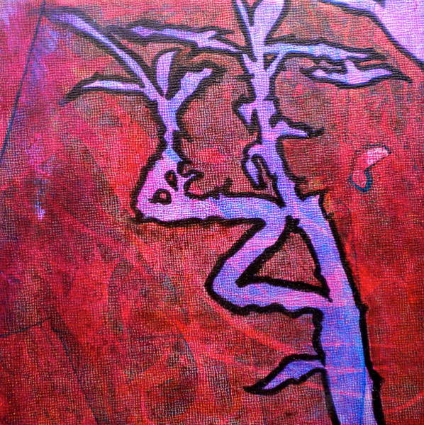Bamboo Painting - Lucky Bamboo by Debi Starr