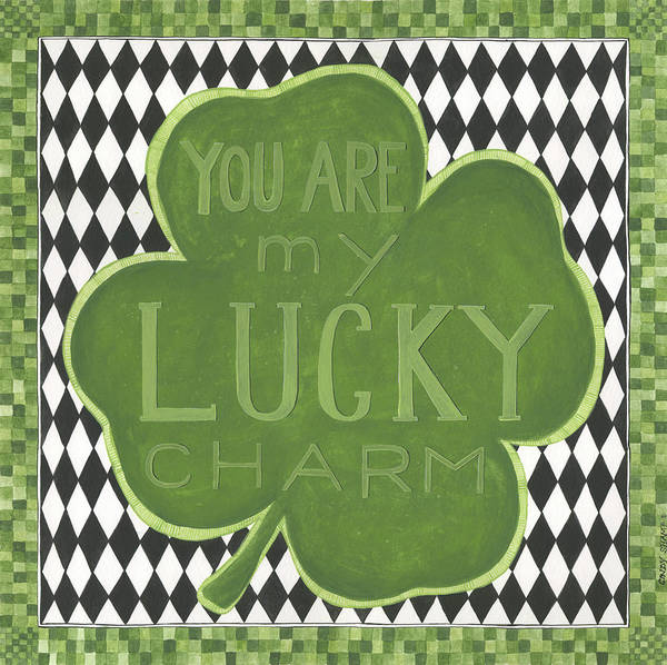 St Patricks Painting - Lucky Charm by Cindy Shamp