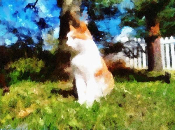 Painting - Lucky Hunter by Derek Gedney