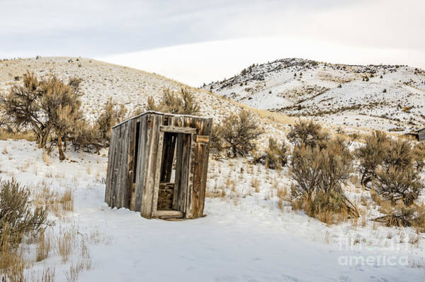 Photograph - Lucky Outhouse by Sue Smith