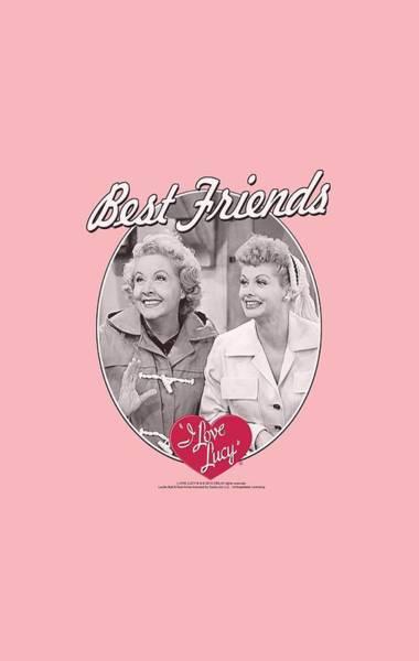 Lucille Ball Wall Art - Digital Art - Lucy - Best Friends by Brand A