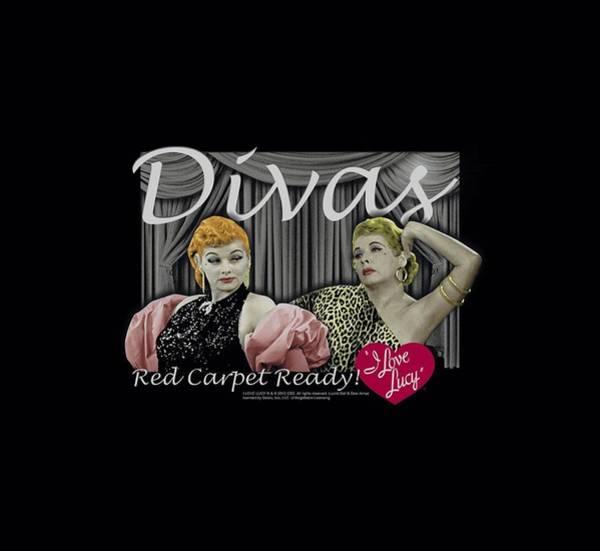 Lucille Ball Wall Art - Digital Art - Lucy - Divas by Brand A