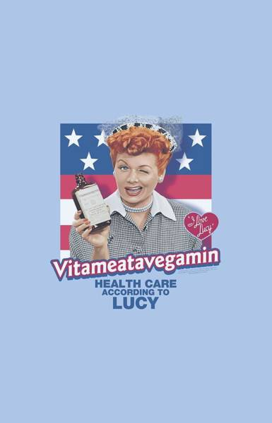 I Love Lucy Wall Art - Digital Art - Lucy - Health Care by Brand A
