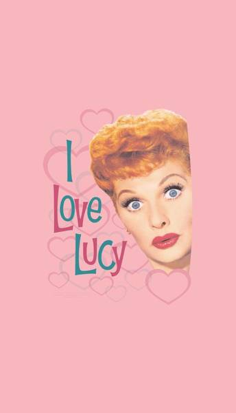 Love Digital Art - Lucy - Hollywood Open Hearts by Brand A