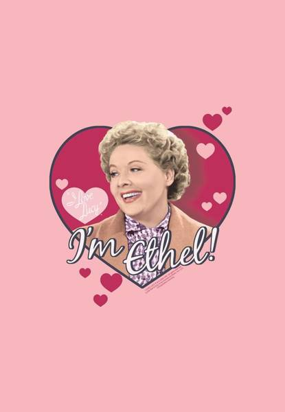 I Love Lucy Wall Art - Digital Art - Lucy - I'm Ethel by Brand A
