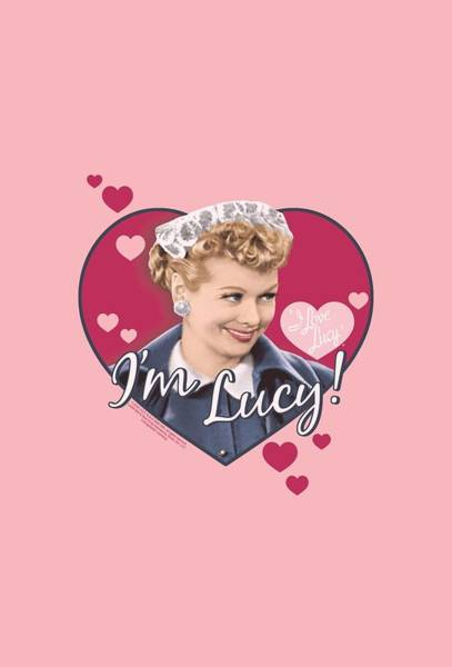 I Love Lucy Wall Art - Digital Art - Lucy - I'm Lucy by Brand A