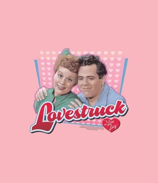 Lucille Ball Wall Art - Digital Art - Lucy - Lovestruck by Brand A