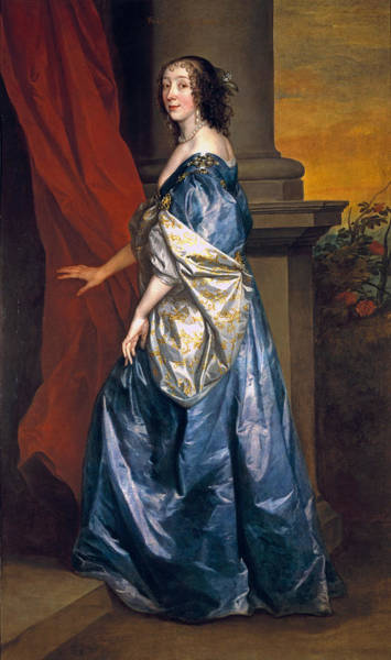 Juliet Wall Art - Photograph - Lucy Percy, Countess Of Carlisle 1599-1660 C.1637 Oil On Canvas by Sir Anthony van Dyck