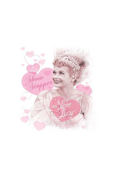 I Love Lucy Wall Art - Digital Art - Lucy - Show Stopper by Brand A