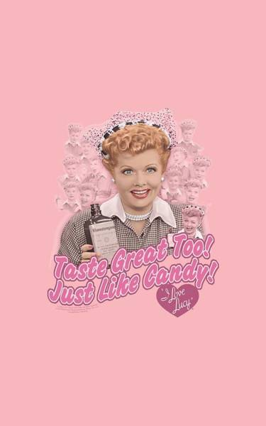 I Love Lucy Wall Art - Digital Art - Lucy - Tastes Like Candy by Brand A