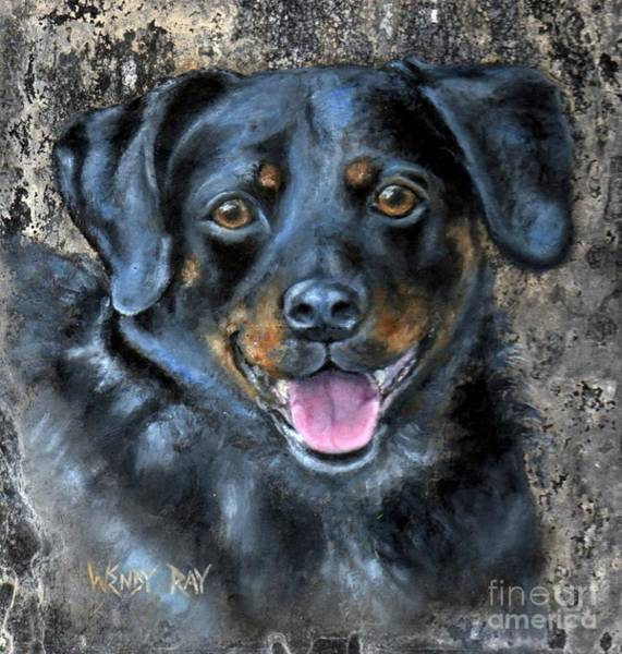 Painting - Lucy by Wendy Ray