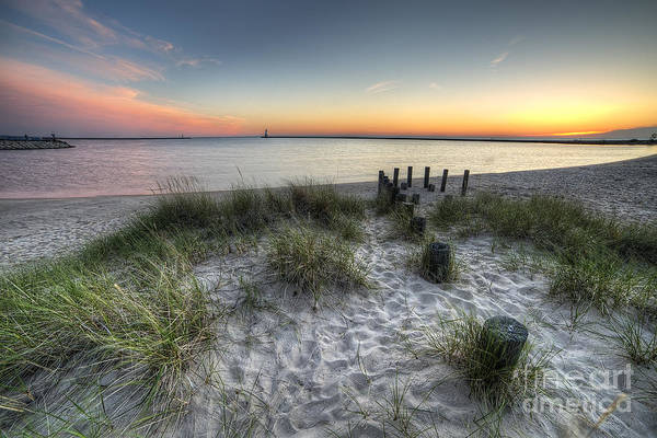 Northern Michigan Photograph - Ludington Beach by Twenty Two North Photography