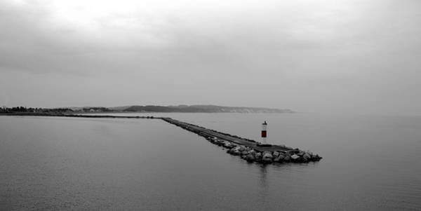 Photograph - Ludington Breakwater by Michelle Calkins