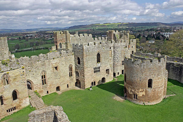 Photograph - Ludlow Castle Chapel And Great Hall by Tony Murtagh