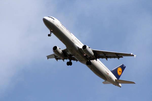 Digital Art - Lufthansa by Doc Braham