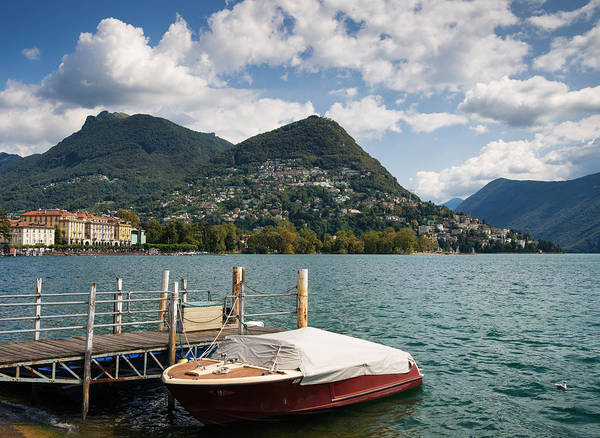 Photograph - Lugano Switzerland by Matthias Hauser