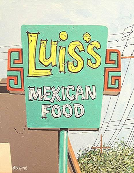 Luis's Art Print by Paul Guyer