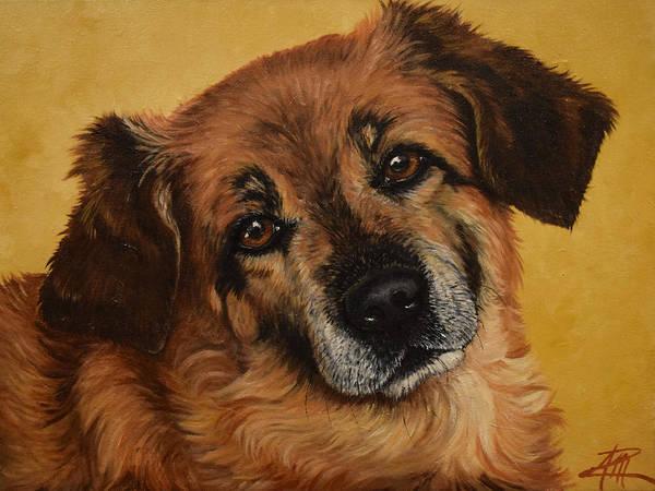 Painting - Lulu by Ana Marusich-Zanor