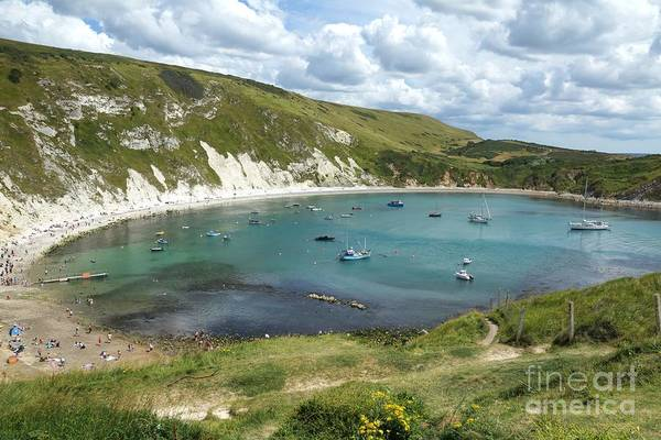 Photograph - Lulworth Cove by David Birchall