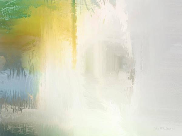 Painting - luminescence III by John WR Emmett