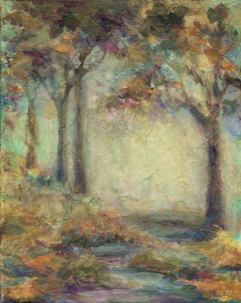 Painting - Luminous Landscape by Mary Wolf