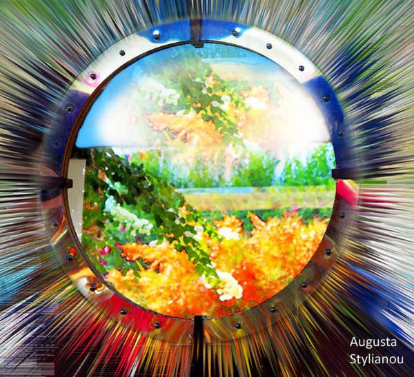 Digital Art - Luminously Landscape by Augusta Stylianou
