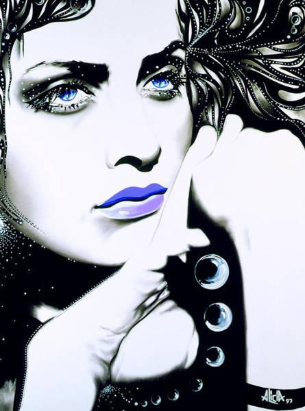 Wall Art - Mixed Media - Luna by Alicia Hayes