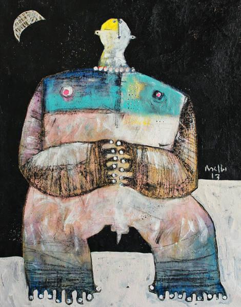 Wall Art - Painting - Lunam No. 2  by Mark M  Mellon