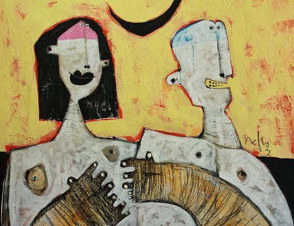 Wall Art - Painting - Lunam No. 5 by Mark M  Mellon