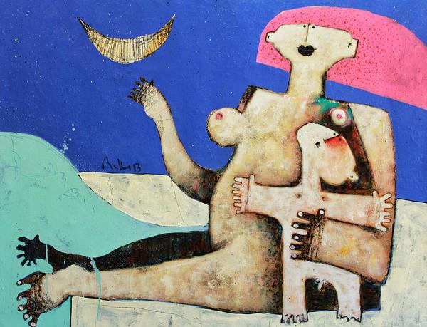Wall Art - Painting - Lunam No. 6 by Mark M  Mellon
