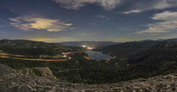 Donner Photograph - Lunar Clarity by Jeremy Jensen
