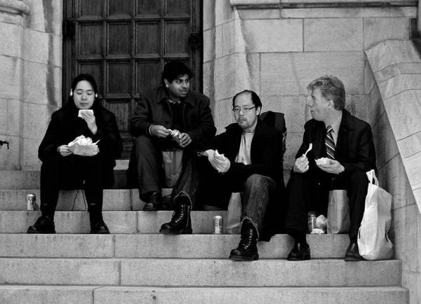Photograph - Lunch At The Fifth Avenue  by RicardMN Photography