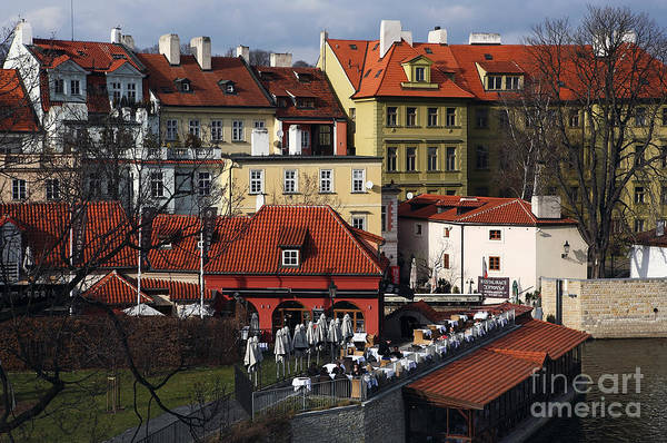 Wall Art - Photograph - Lunch Time In Prague by John Rizzuto