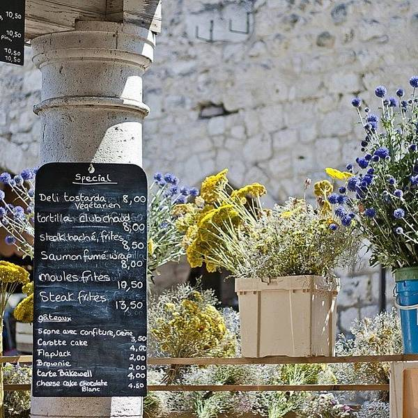 France Wall Art - Photograph - #lunchtime #france #frenchfood #french by Georgia Fowler