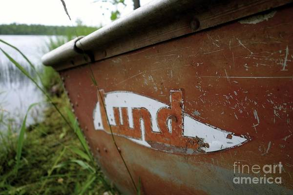 Photograph - Lund Fishing Boat by Jacqueline Athmann