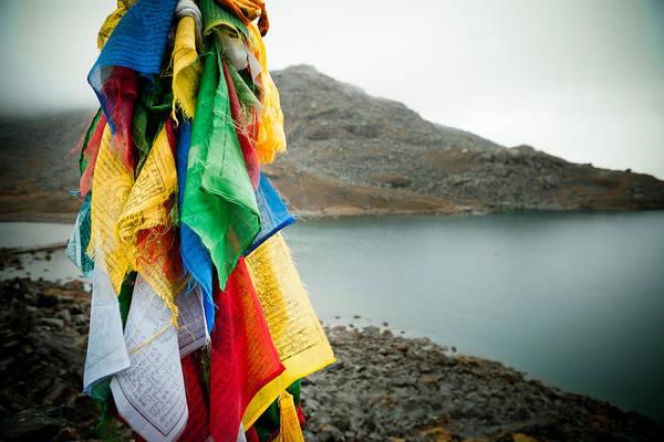 Wall Art - Photograph - Lungta Gosaikunda Lake Nepal by Raimond Klavins
