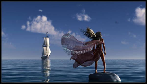 Shipwreck Digital Art - Lure Of The Siren... by Tim Fillingim