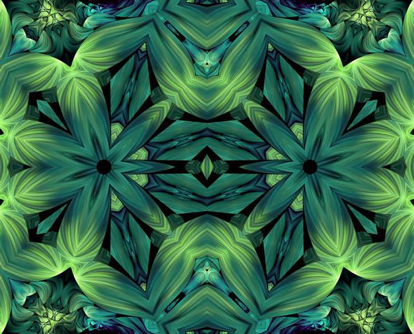 Algorithm Digital Art - Luscious Greenery by Georgiana Romanovna