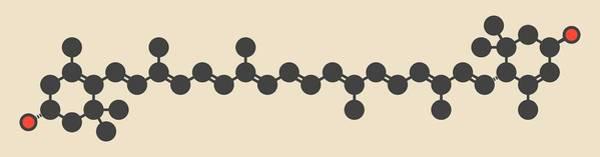 Wall Art - Photograph - Lutein Carotenoid Molecule by Molekuul