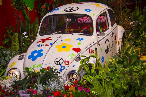 Wall Art - Photograph - Luv Bug In The Garden by Garry Gay