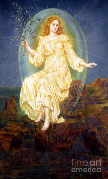 Painting - Lux In Tenebris by Evelyn De Morgan