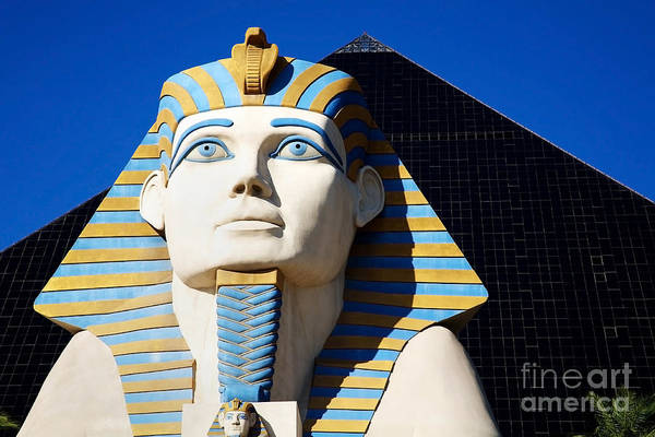 Photograph - Luxor Las Vegas Sphinx by Kate McKenna